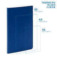 PU B5 Soft Cover (glued) Notebook