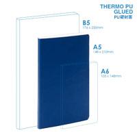 Personalized - PU A5 Soft Cover (glued) Notebook