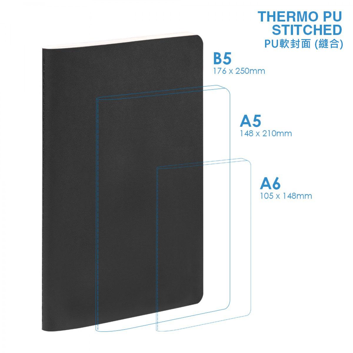 PU B5 Soft Cover (stitched) Notebook