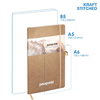 Eco A5 Soft Cover (stitched) Notebook
