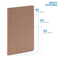 Eco B5 Soft Cover (stitched) Notebook